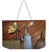 Herbs Weekender Tote Bag