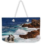Hercules On The Argonauts Ship Weekender Tote Bag
