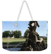 Hercules Sculpture Water Fountain  Weekender Tote Bag