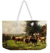 Herd Of Cows Weekender Tote Bag