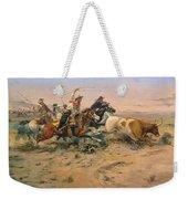 Herd Quit Weekender Tote Bag