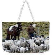 Herding Sheep Patagonia 3 Weekender Tote Bag