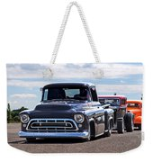Here Come The Hot Rod Boys Weekender Tote Bag
