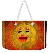 Here Come The Suns Triptych Weekender Tote Bag