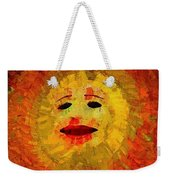 Here Come The Suns Vertical Weekender Tote Bag