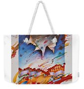Here Comes The Night Weekender Tote Bag