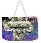 Here Lie The Faithful Weekender Tote Bag