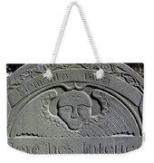 Here Lies Interred Weekender Tote Bag