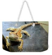 Here Lizard Lizard Weekender Tote Bag
