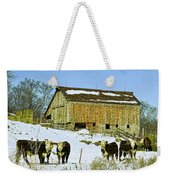 Hereford Barn Painting Weekender Tote Bag