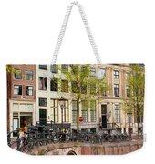 Herengracht Canal Houses In Amsterdam Weekender Tote Bag