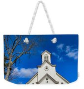 Heres The Church And The Steeple Weekender Tote Bag