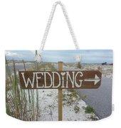 Here's The Wedding Weekender Tote Bag
