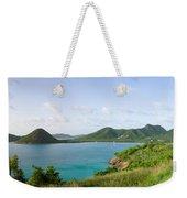 Hermitage Bay Panorama Antigua Weekender Tote Bag