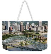 Hernando-desoto Bridge Memphis Weekender Tote Bag