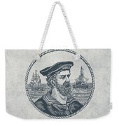 Hero Sea Captain - Nautical Design Weekender Tote Bag