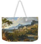 Heroic Landscape With Rainbow Weekender Tote Bag