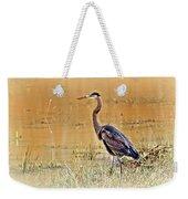 Heron At Sunset Weekender Tote Bag by Marty Koch
