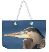 Heron Close-up Weekender Tote Bag