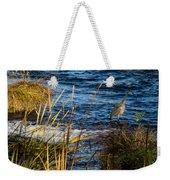 Heron Fishing Weekender Tote Bag