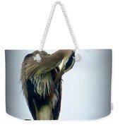 Heron Grooming Weekender Tote Bag