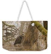 Heron In A Fog Weekender Tote Bag