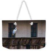 Heron In The Window Weekender Tote Bag