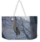 Heron Looking Out Weekender Tote Bag
