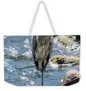 Heron On One Leg Weekender Tote Bag