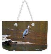 Heron On The Creek Weekender Tote Bag