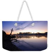 Heron Sunrise On The Bon Secour Weekender Tote Bag