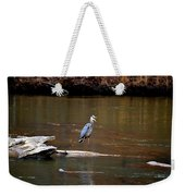 Heron Talking Weekender Tote Bag