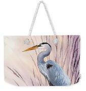 Herons Driftwood Home Weekender Tote Bag