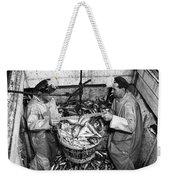 Herring Fishing Howth 1955  Weekender Tote Bag