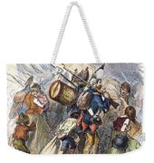 Hessian Mercenaries, 18th C Weekender Tote Bag