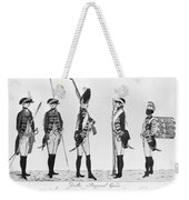 Hessian Soldiers Weekender Tote Bag