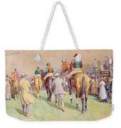 Hethersett Steeplechases Weekender Tote Bag by John Atkinson