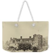 Hever Castle Yellow Plate 2 Weekender Tote Bag
