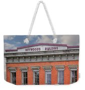 Heywoods Heywood Building In Old Sacramento California Weekender Tote Bag