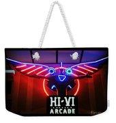 Hi-vi Arcade Weekender Tote Bag