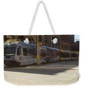 Hiawatha Line Light Rail Weekender Tote Bag