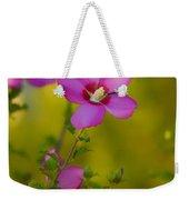 Hibiscus 01 Weekender Tote Bag