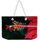 Hibiscus 3 Weekender Tote Bag