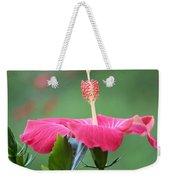 Hibiscus Ballerina Weekender Tote Bag