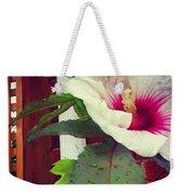 Hibiscus Flower In Bloom Weekender Tote Bag