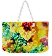 Hibiscus Impressionist Weekender Tote Bag