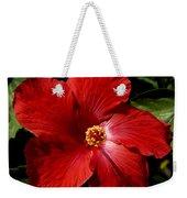 Hibiscus Landscape Weekender Tote Bag