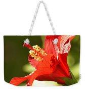 Hibiscus Loving Sun Weekender Tote Bag
