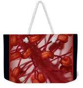 Hibiscus Macro Weekender Tote Bag