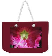 A Hibiscus Discovered On Boston Common Weekender Tote Bag